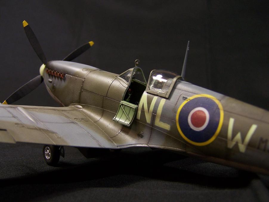 tamiya,maquette,avion,61033,Super marine,Spitfire,Mk.Vb,1/48